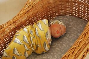 Bébé dans son cocon